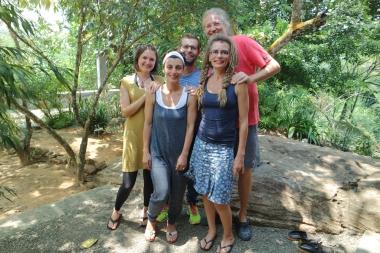 Alli, Edna und ich mit Ana & Neil